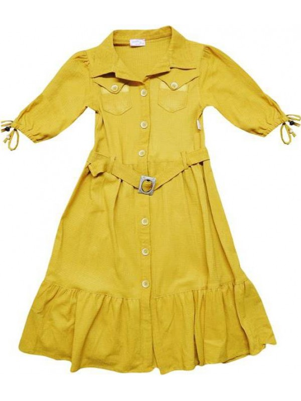 10-12-14 age Summer girls dresses good quality wholesale model7