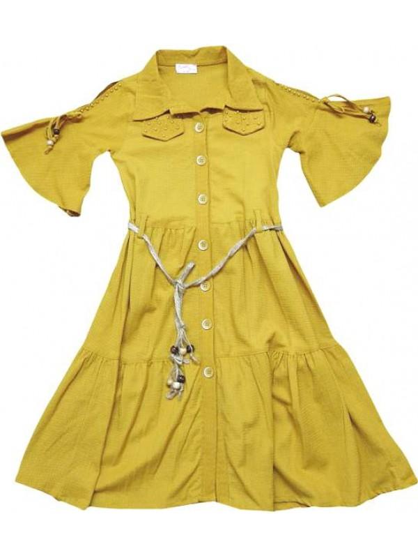 10-12-14 лет летние платья для девочек хорошего качества оптом model10