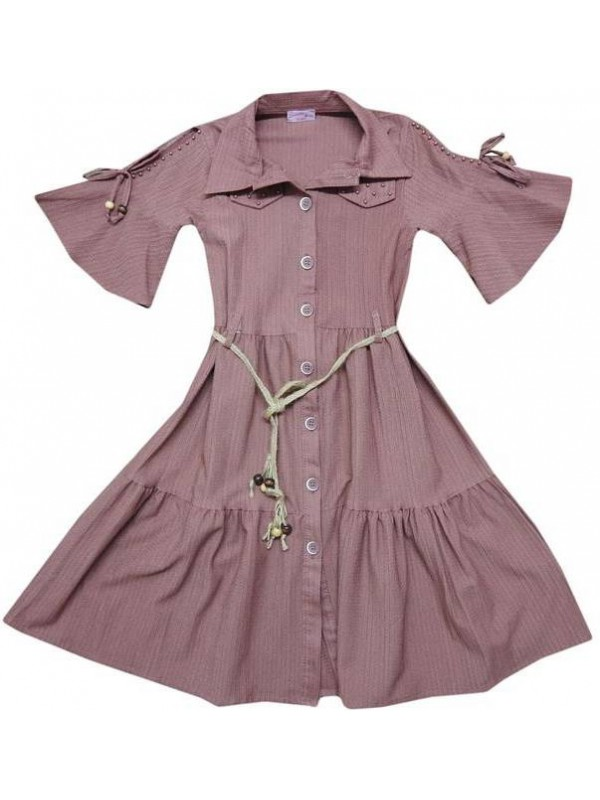10-12-14 лет Летние платья для девочек хорошего качества оптом model11