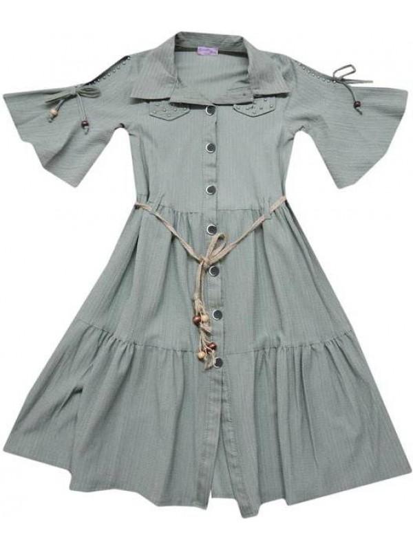 10-12-14 age Summer girls dresses good quality wholesale model12