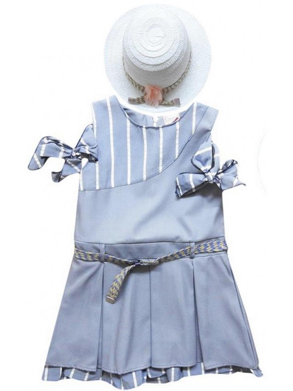 1-2-3-4 age new model girl dress summer color 3