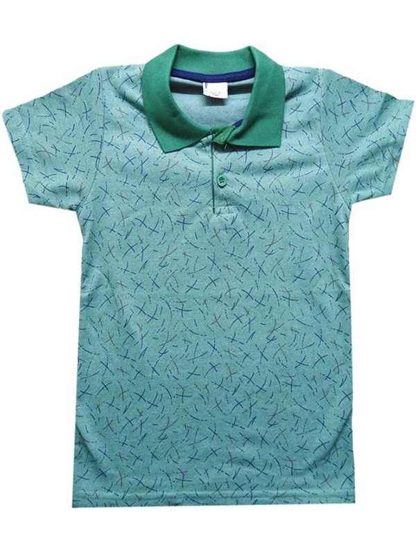 3-4-5-6-7 age lacoste collar boy t-shirt summer color 1