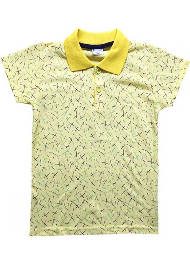3-4-5-6-7 age lacoste collar boy t-shirt summer color 3