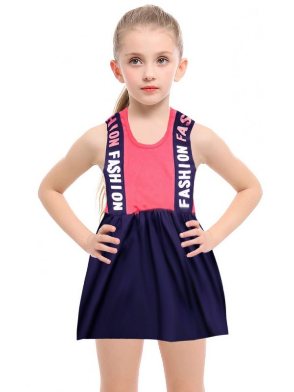 1-2-3-4-5-6-7-8 years summer girls dress wholesale R2