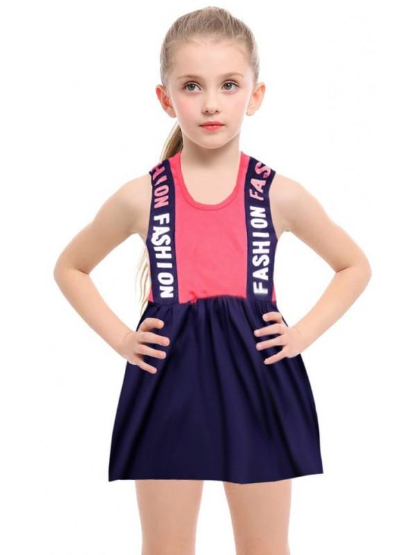 1-2-3-4-5-6-7-8 yaş yazlık kız elbise toptan R2