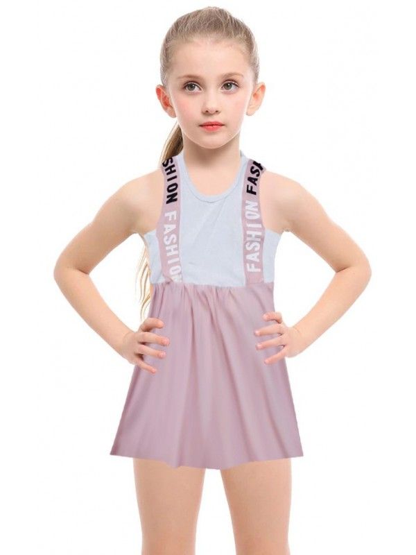 1-2-3-4-5-6-7-8 ages summer girls dress wholesale R3