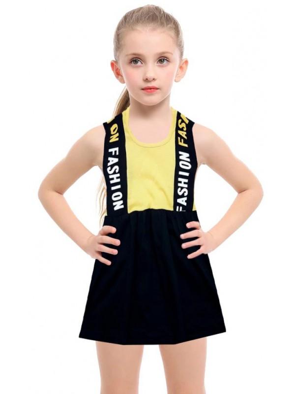 1-2-3-4-5-6-7-8 age summer girls dress wholesale R1