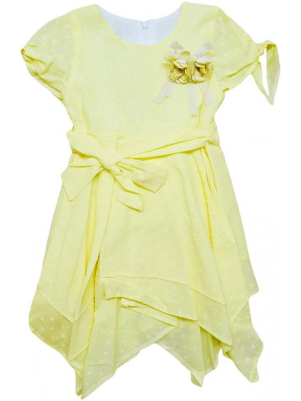 2-3-4-5 age new season girls dress summer color 2
