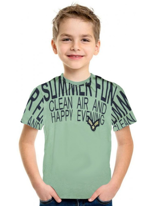 5-6-7-8 years old summer boy t-shirt wholesale 5T