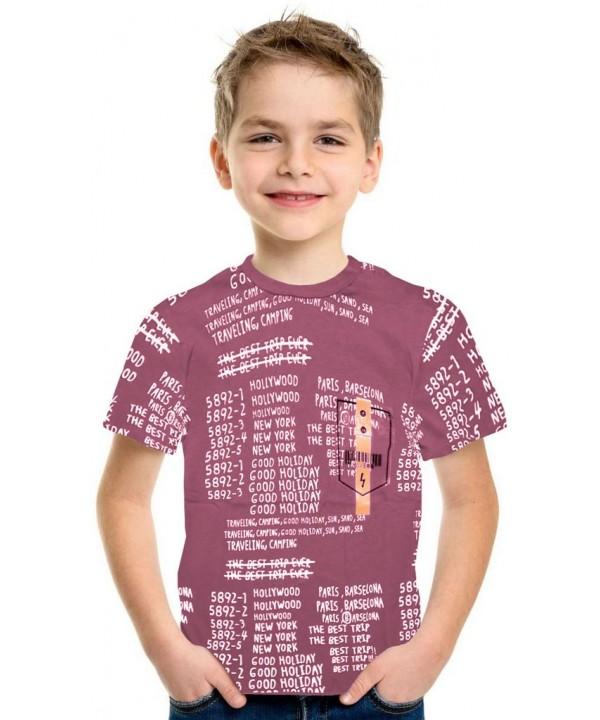 Летняя футболка для мальчиков 9-10-11-12 лет оптом 1K