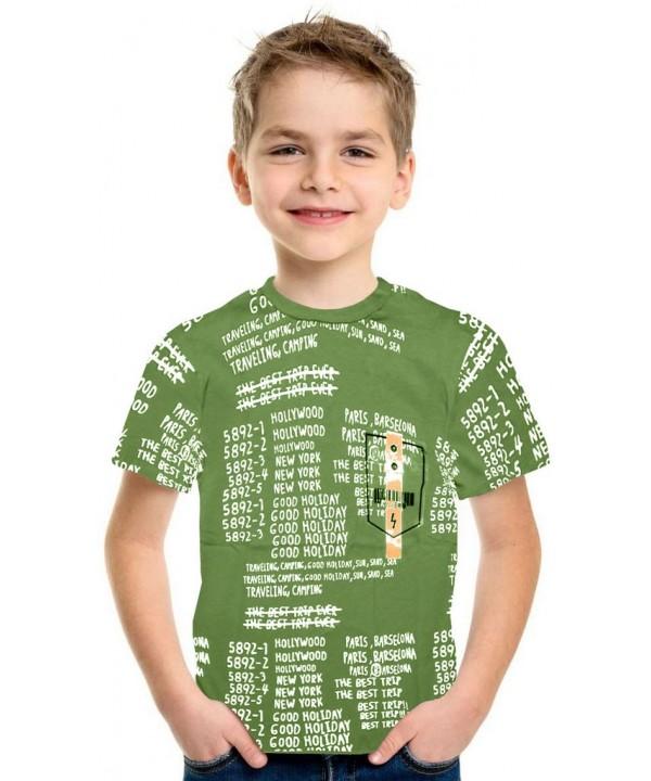 Летняя футболка для мальчиков 9-10-11-12 лет оптом 3K