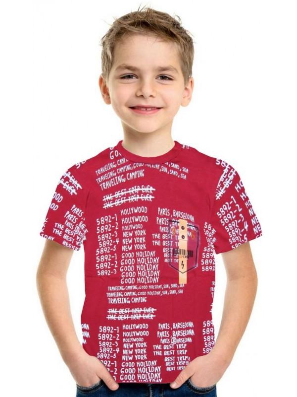 9-10-11-12 yaş yazlık erkek çocuk tişört toptan 5K