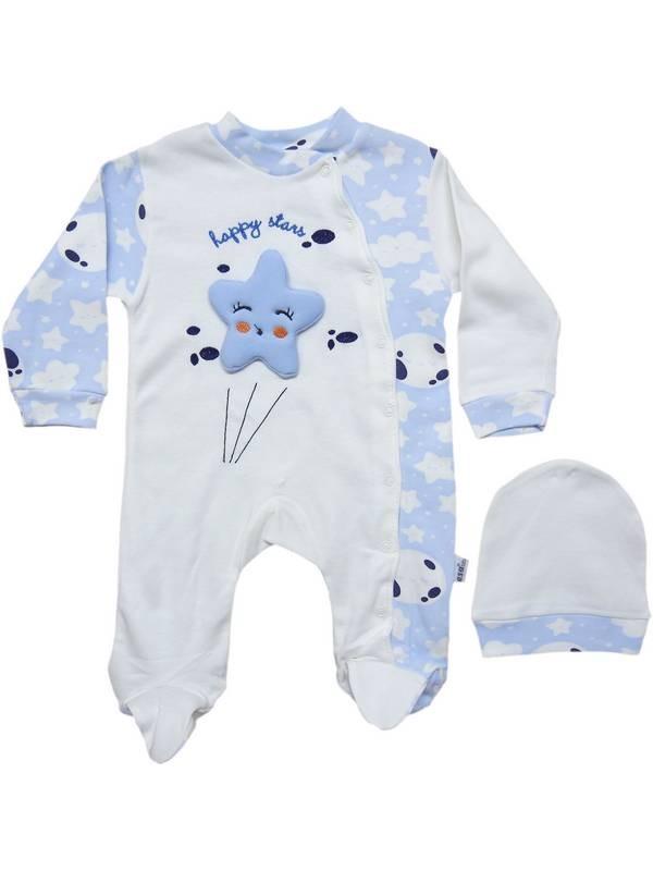 3-6-9 months boy girl baby 100% cotton jumpsuit 3code