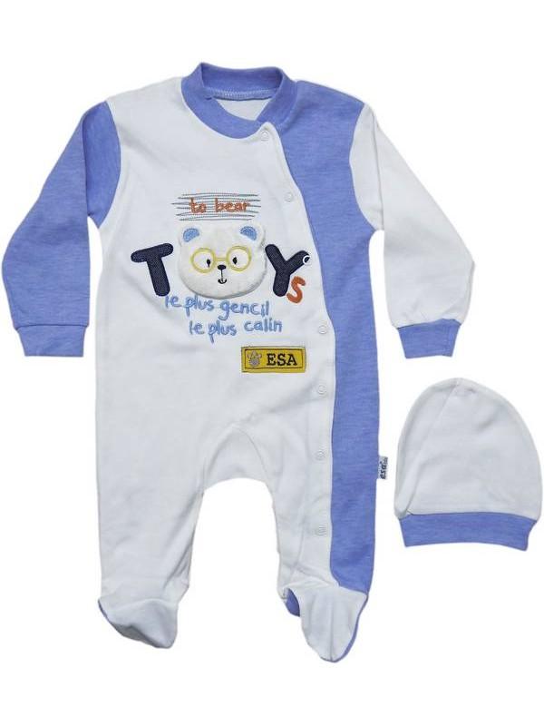 3-6-9 months boy girl baby 100% cotton jumpsuit 9code