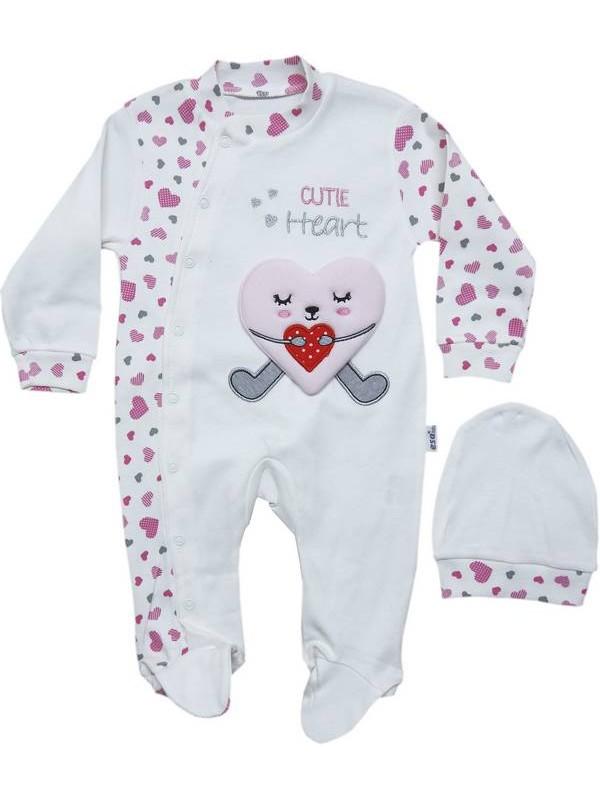 3-6-9 ay erkek kız bebek %100 pamuk tulum 12kod