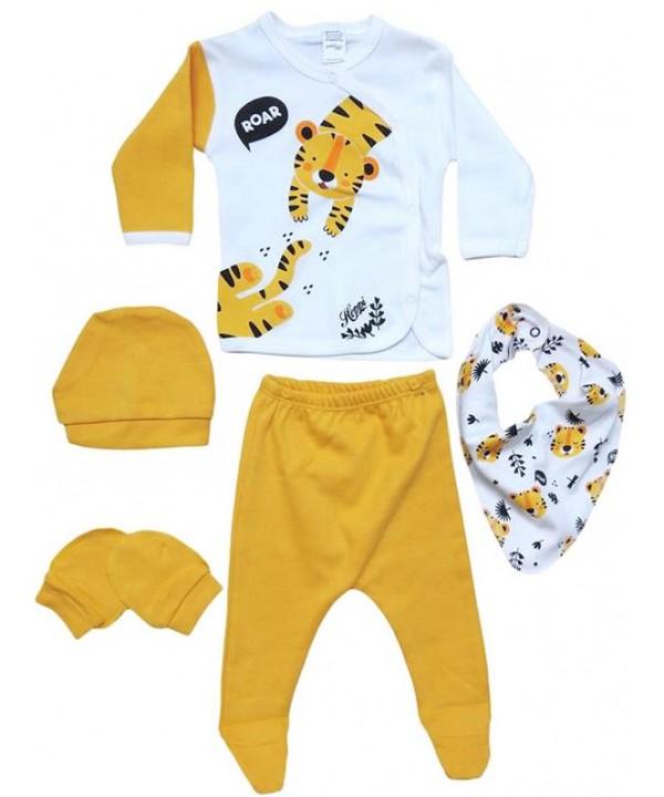 0 - 3 - 6 months newborn suit clothes tiger print wholesale