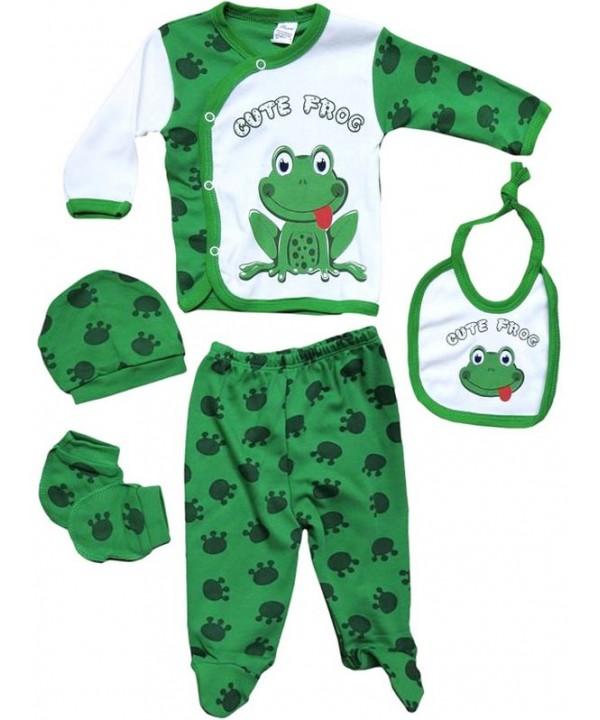 0-3-6 months newborn suit dress frog print wholesale