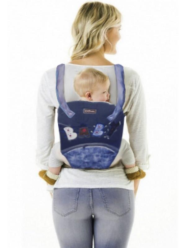 toptan bebek sırt taşıma çantası kanguru lacivert