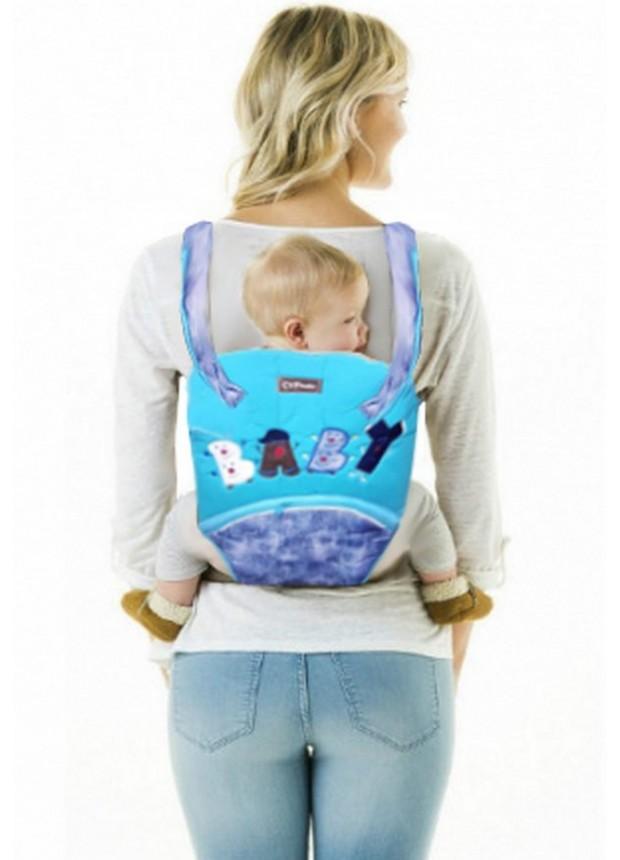 Оптовая детские рюкзаки кенгуру бирюзовый