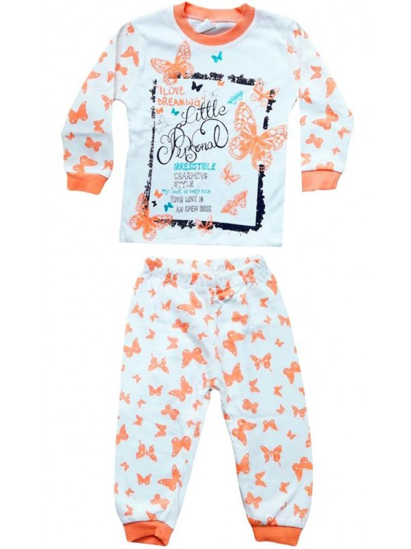 Пижамы для девочек 1-2-3 лет Пижамные комплекты для мальчиков PJM2