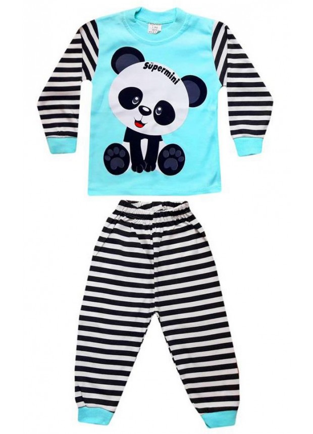 1-2-3 года Оптовые детские пижамные комплекты PJM5