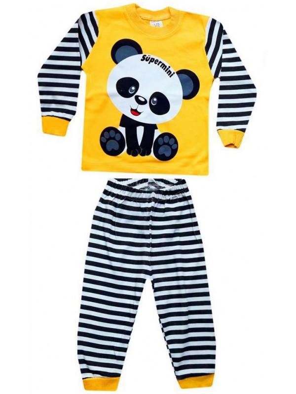 1-2-3 yaş Toptan çocuk pijama takımları PJM7
