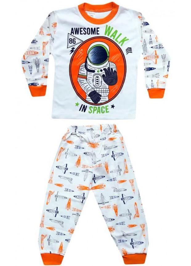 1-2-3 yaş Toptan çocuk pijama takımları PJM9