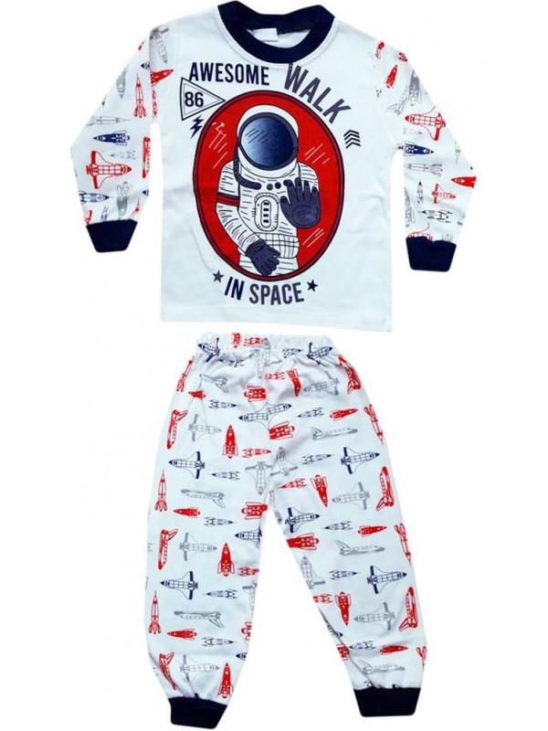 1-2-3 yaş Toptan çocuk pijama takımları PJM10