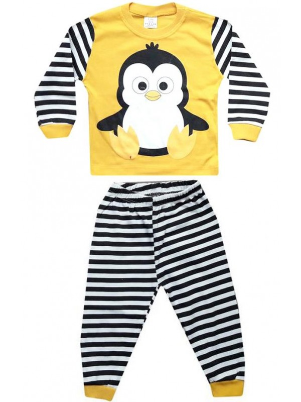 1-2-3 yaş Toptan çocuk pijama takımları PJM15