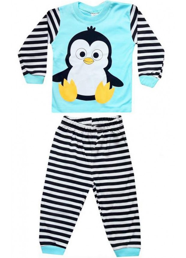 1-2-3 года Оптовые детские пижамные комплекты PJM16
