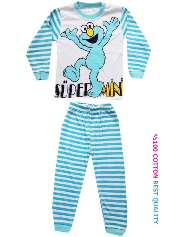4-5-6 age wholesale children pajama sets model2