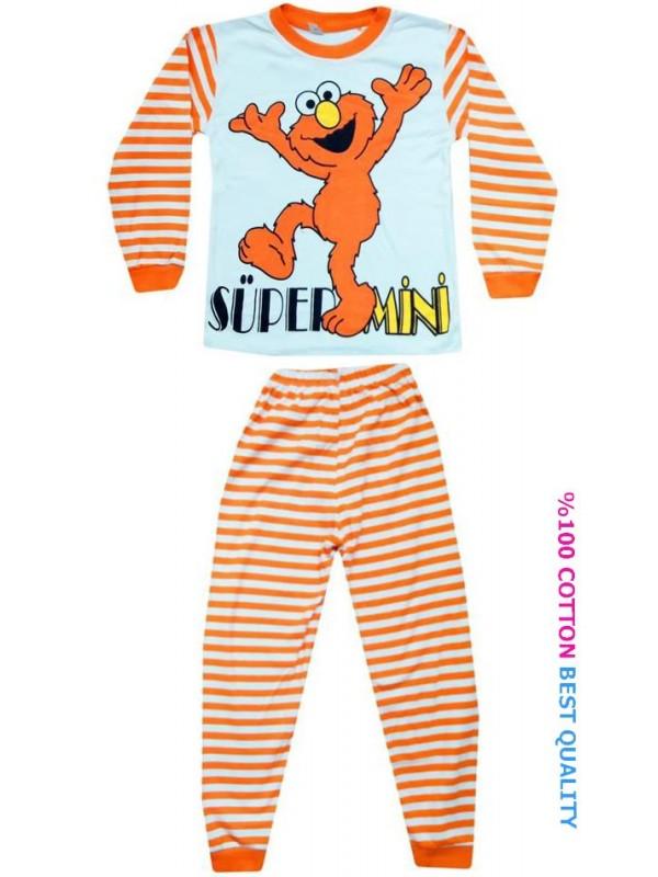 4-5-6 yaş toptan çocuk pijama takımları model3