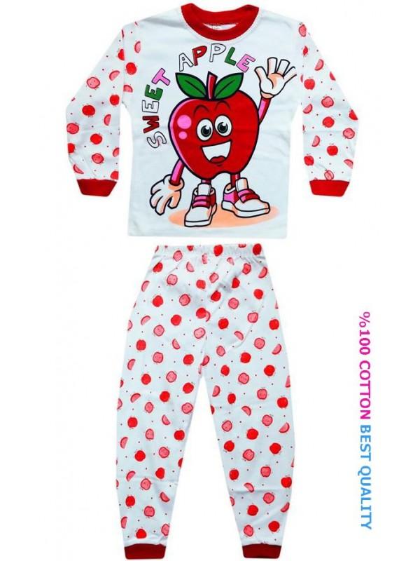 4-5-6 age wholesale children pajama sets model7