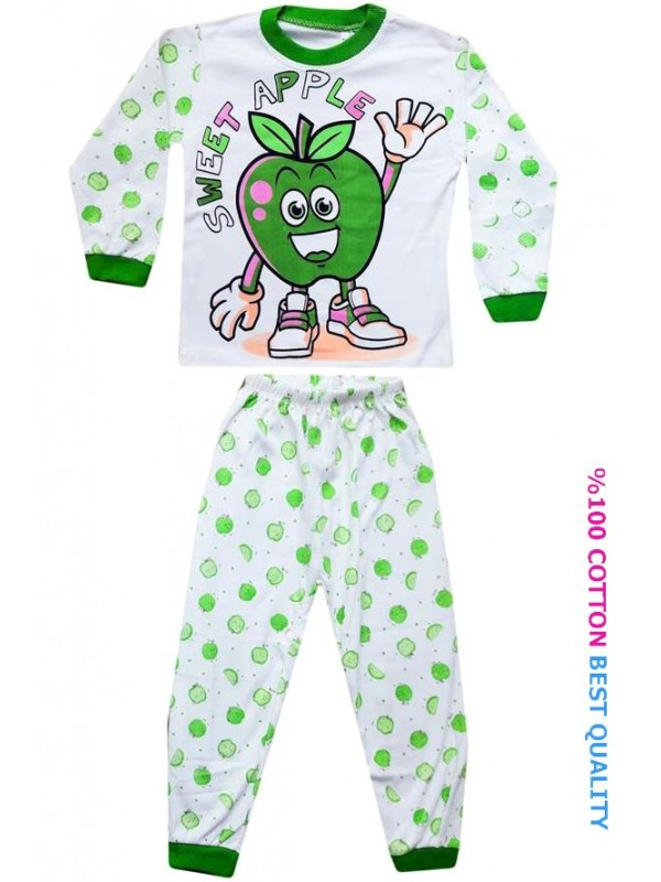 4-5-6 лет оптовые детские пижамные комплекты model8