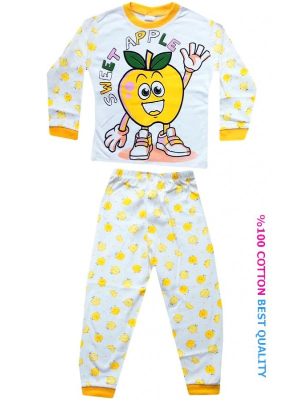4-5-6 age wholesale children pajama sets model9