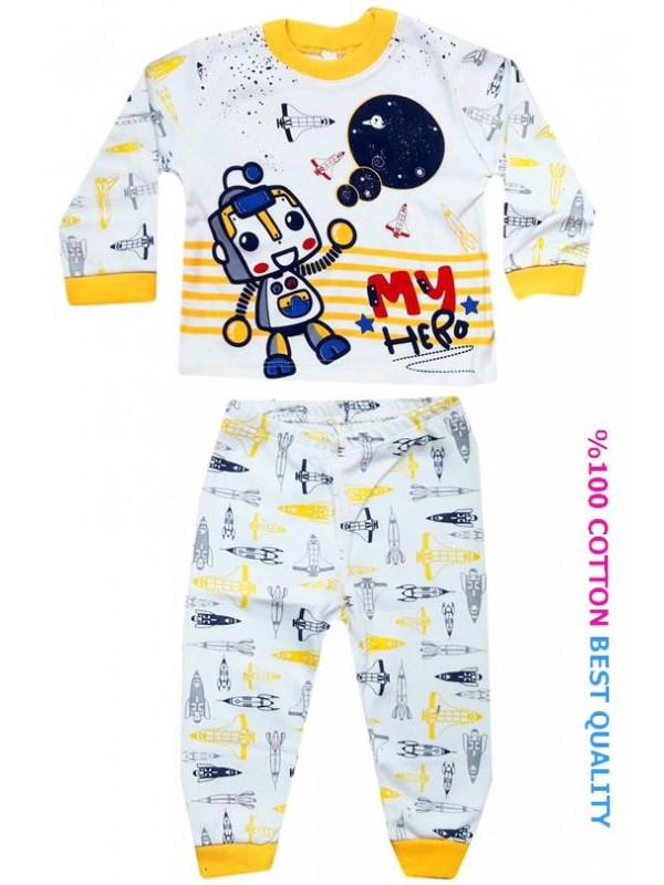 6-9-12 month baby pajama set wholesale M1