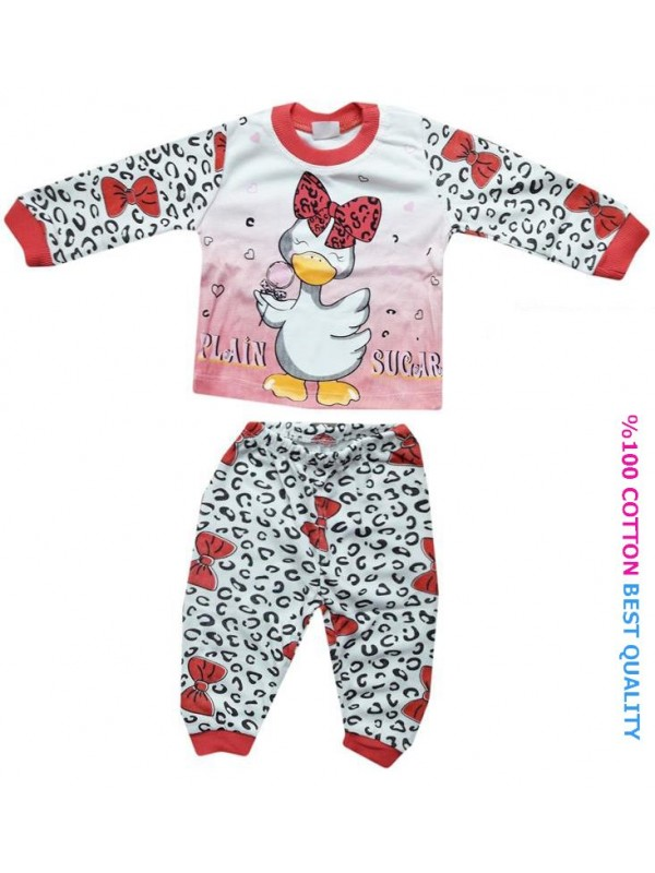 6-9-12 month baby pajama set wholesale M4