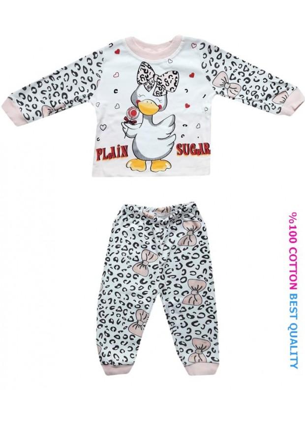 6-9-12 aylık bebek pijama takımı toptan M6