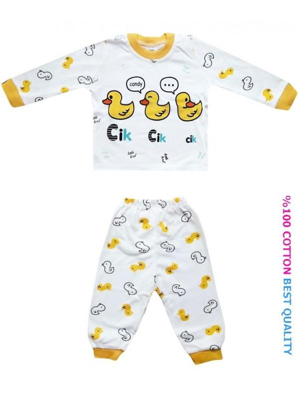 6-9-12 month baby pajama set wholesale M7