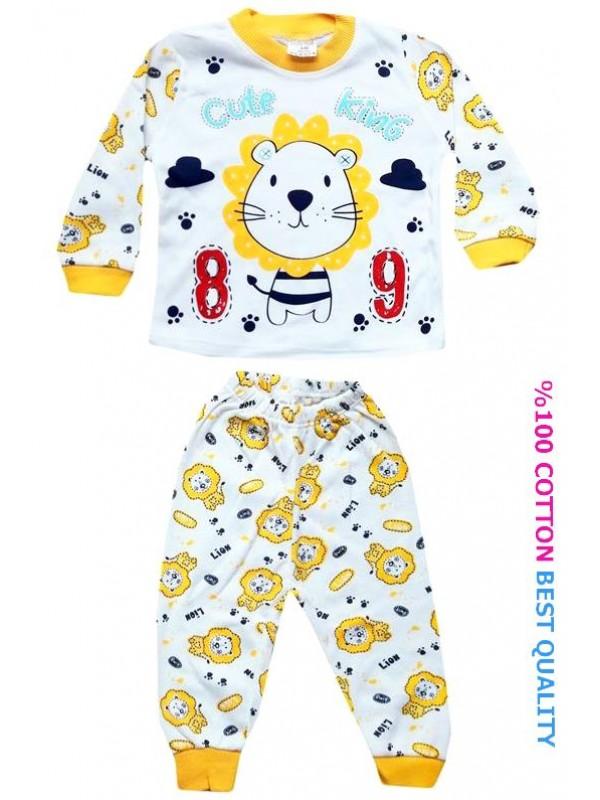 6-9-12 month baby pajama set wholesale M8