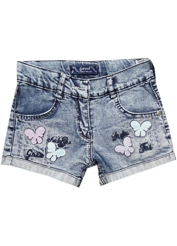 3-4-5-6-7-8-9-10-11-12 ages girls denim capri shorts wholesale