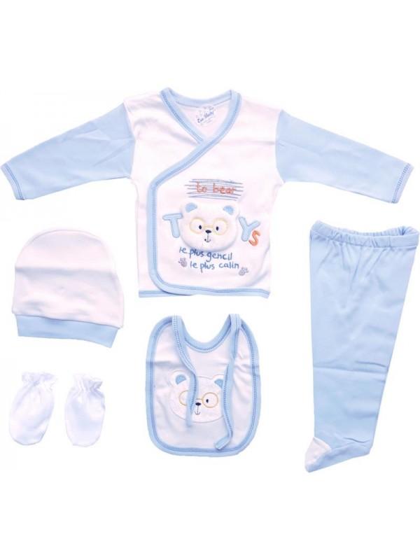 100% cotton newborn clothes wholesale box set cheap M3
