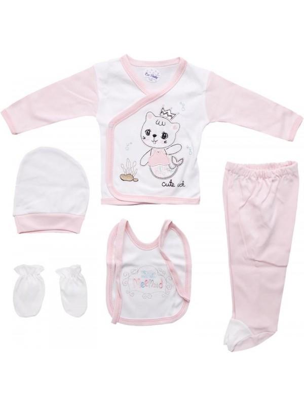 Комплект одежды для новорожденных из 100% хлопка оптом дешево M8
