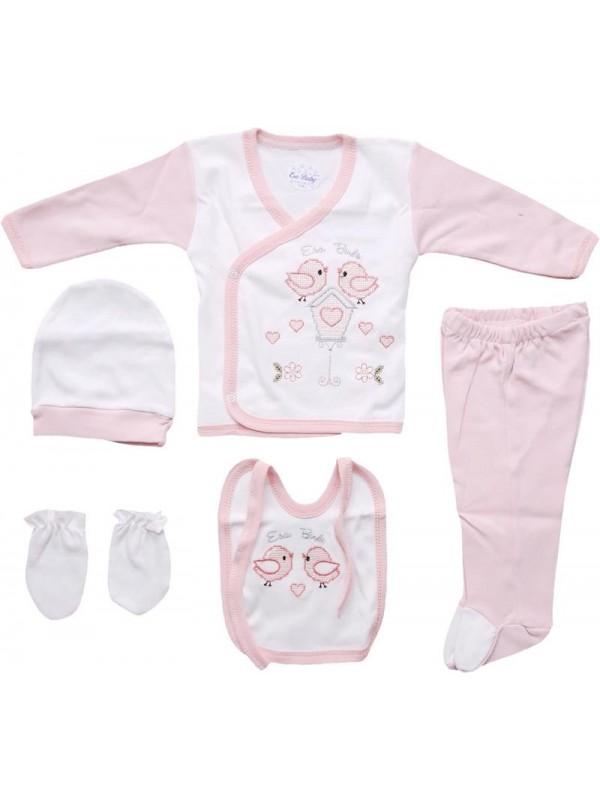 Комплект одежды для новорожденных из 100% хлопка оптом дешево M11