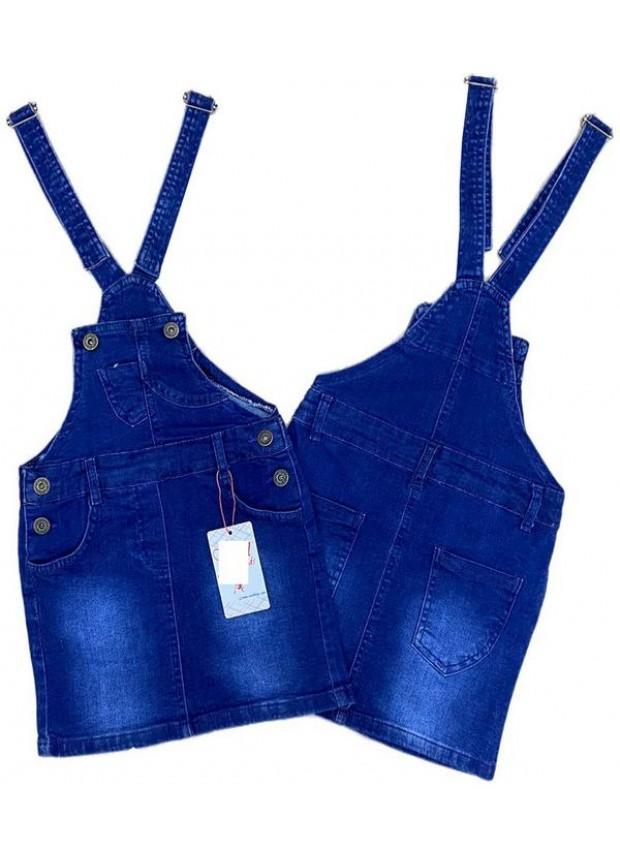 2-3-4-5-6-7-8-9 летнее платье из небрежных джинсов для девочек, джинсовое платье садовника 2M