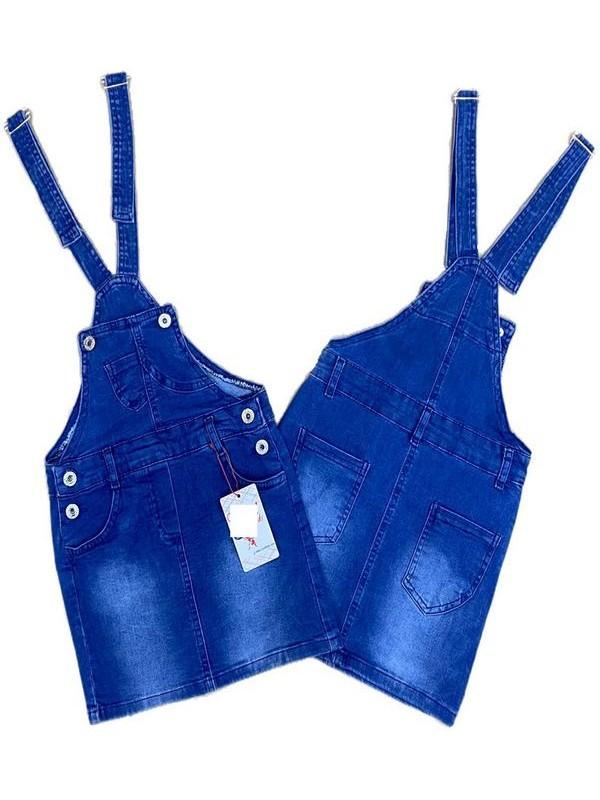 2-3-4-5-6-7-8-9 age girl slopet jeans gardener denim dress 3M