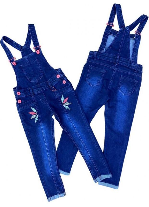2-3-4-5-6-7-8-9 летнее платье для девочек с укороченными джинсами, джинсовое платье садовника 4M