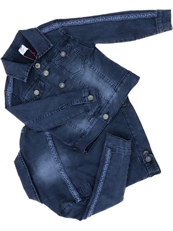 2-3-4-5-6-7-8-9-10-11-12 лет девочка джинсовая куртка 2M