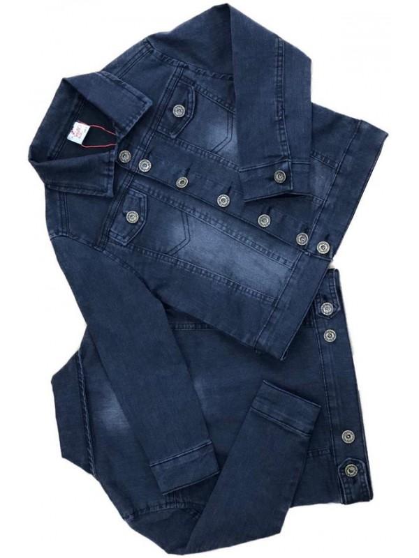 2-3-4-5-6-7-8-9-10-11-12 age girl boy denim jacket 3M
