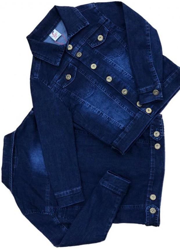 2-3-4-5-6-7-8-9-10-11-12 лет девочка мальчик джинсовая куртка 5M